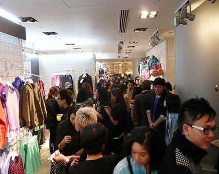 lane crawford american apparel Hong Kong