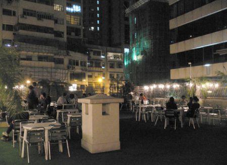 roof bar fringe club Hong