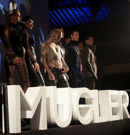 theirry mugler zombie boy rick genest HK