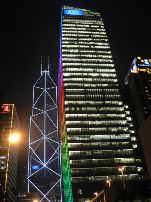 The new AIG building