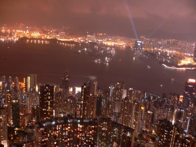 View of West Kowloon from The Peak