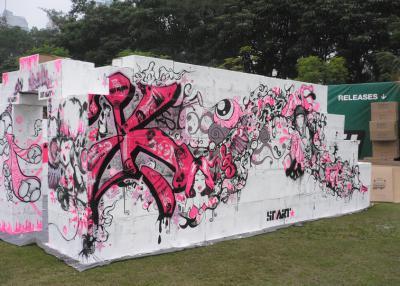 An Art-Wall at Rockit