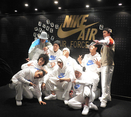 Nike hong kong hk dancer
