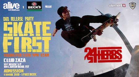 hk skateboarding skating 24Herbs