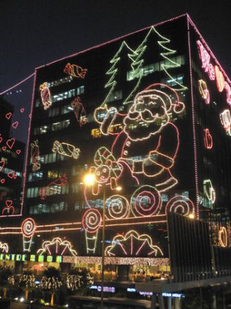 christmas lights hong kong xmas tst east