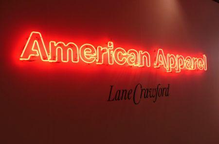 american apparel hong kong store HK