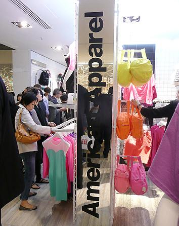 american apparel hk