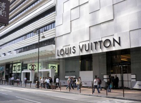 LV store hong kong hk china opening tst kowloon canton road