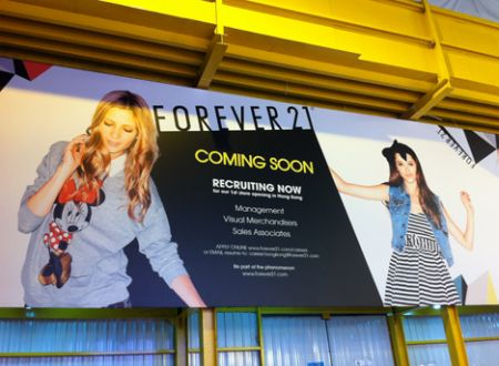 forever 21 hong kong store address causeway bay