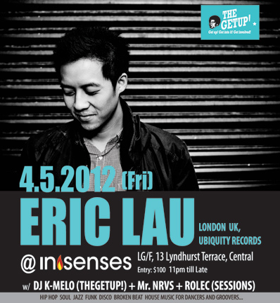 eric lau dj music london
