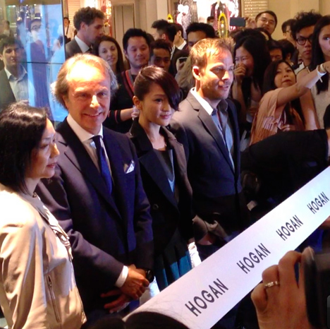 hogan store zhou xun stephen dorff hong kong shop china