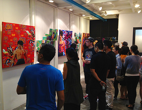 wild style art exhibit fab 5 freddy hong kong