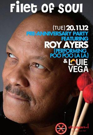 Roy Ayers Louie Vega dragon-i 10th anniversary di hong kong club