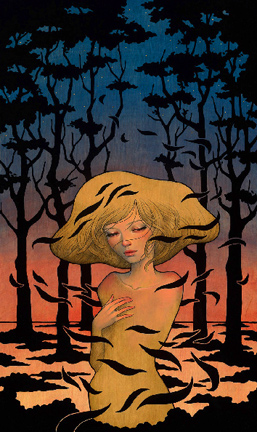 shadows audrey kawasaki above second gallery hk