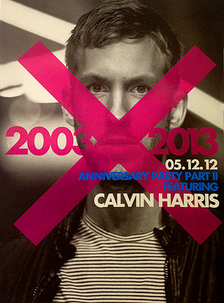 Calvin Harris dragon-i hong kong club hk anniversary
