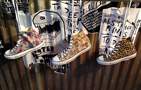converse camouflage sneaker shoe shop store