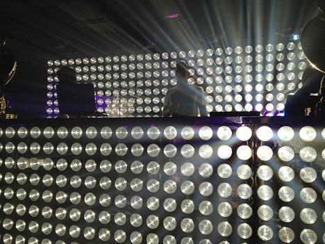 DJ booth at galas club hong kong hk china