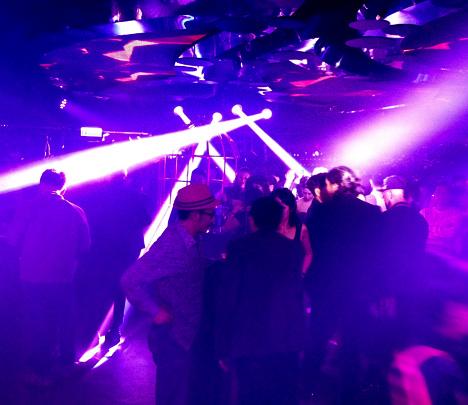 dance floor at club galas hong kong