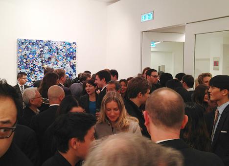 takashi murakami art opening china gagosian