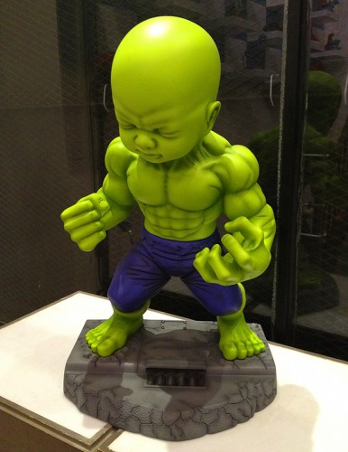 garage works industries chris kong hong kong hk baby hulk