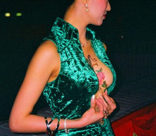 diana pang dan photo tattoo movie actress hk