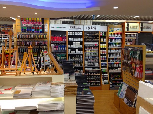 Art Shop art supplies in hong kong? art jam at home!