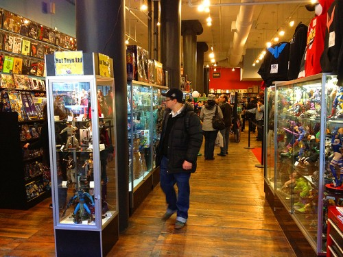 forbidden planet comic book new york store nyc ny broadway comics