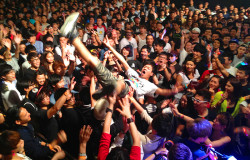 hardpack concert hong kong crowd surf hk