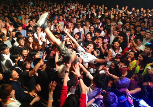 crowd surf lmf hardpack show hk band