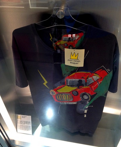 jean michel basquiat t-shirt uniqlo ut shirt
