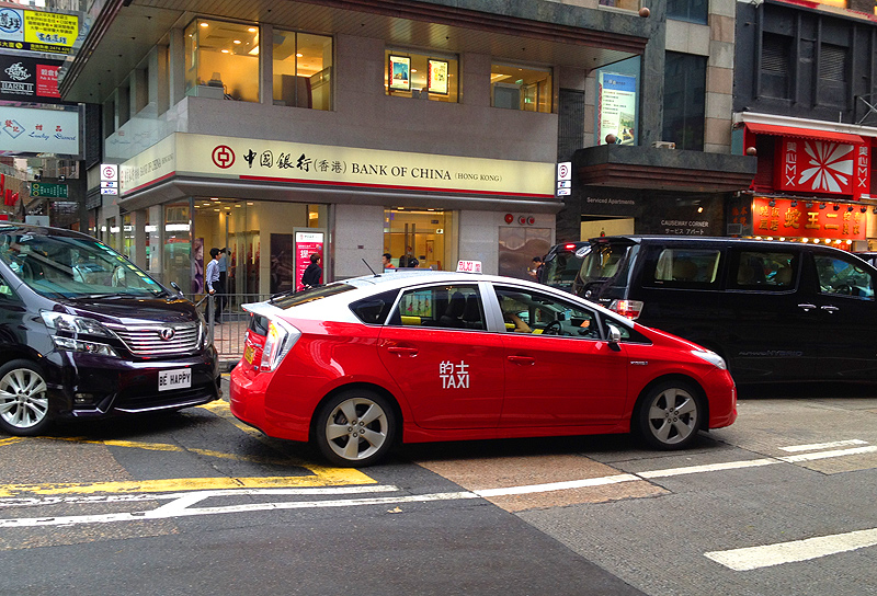 hong kong taxi drivers electric cars top 10