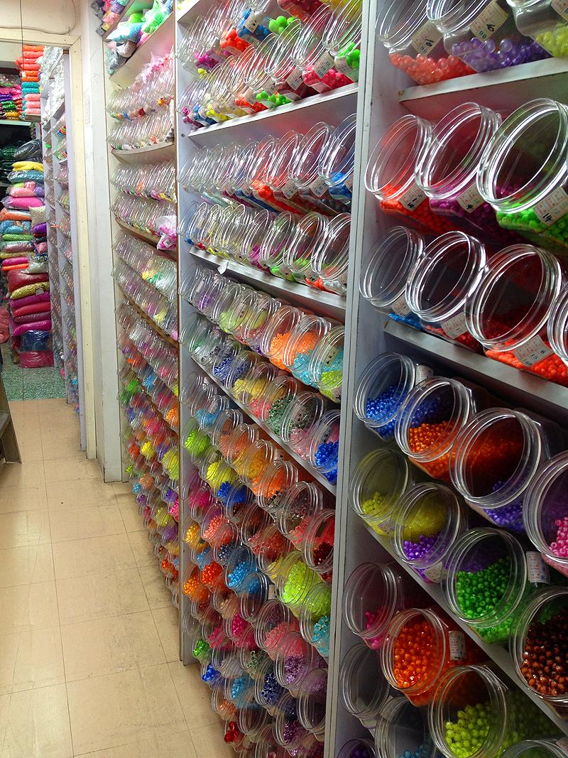 tao yuan bead store sham shui po glass metal