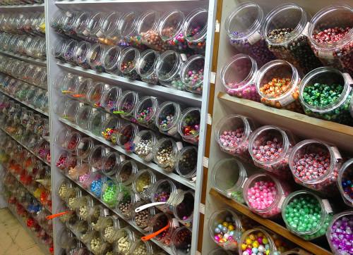 glass ceramic metal gemstone plastic wooden beads hk