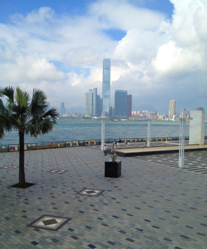 sun yat sen waterfront park memorial lawn hong kong