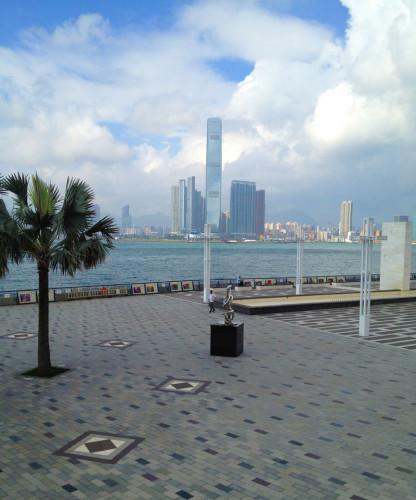 sun yat sen waterfront park memorial lawn hong kong