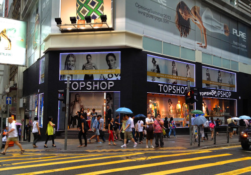 topshop hong kong store address hk flagship location