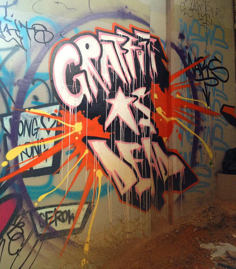 Hong Kong Art: Mongkok's Graffiti Wall Of Fame!