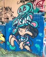graffiti character hk hong kong