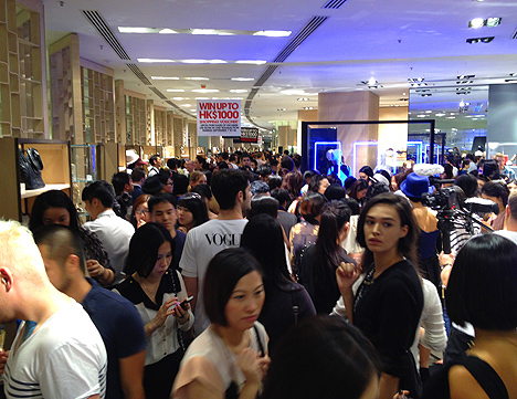 hong kong fashions night out hk 2013 lane crawford vogue china