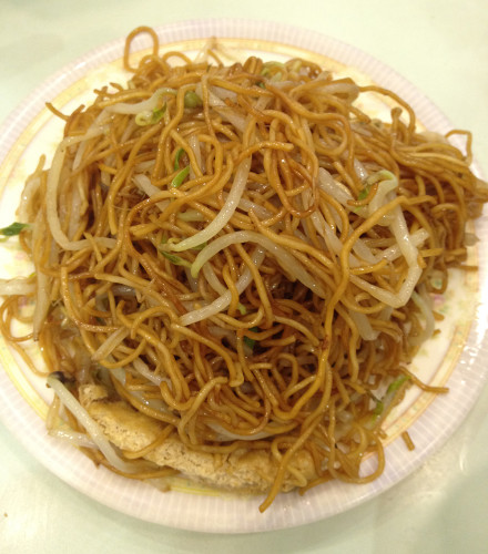 fried noodles hong kong style hk cuisine
