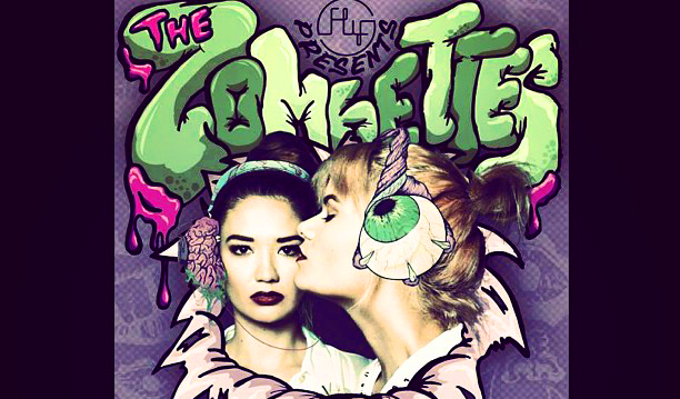 The Zombettes girl djs ornusa cadness sanya smith manila philippines