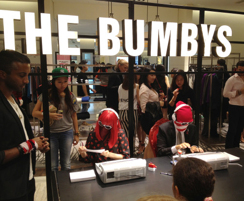 the bumbys fashion's night out hk fno hong kong lane crawford