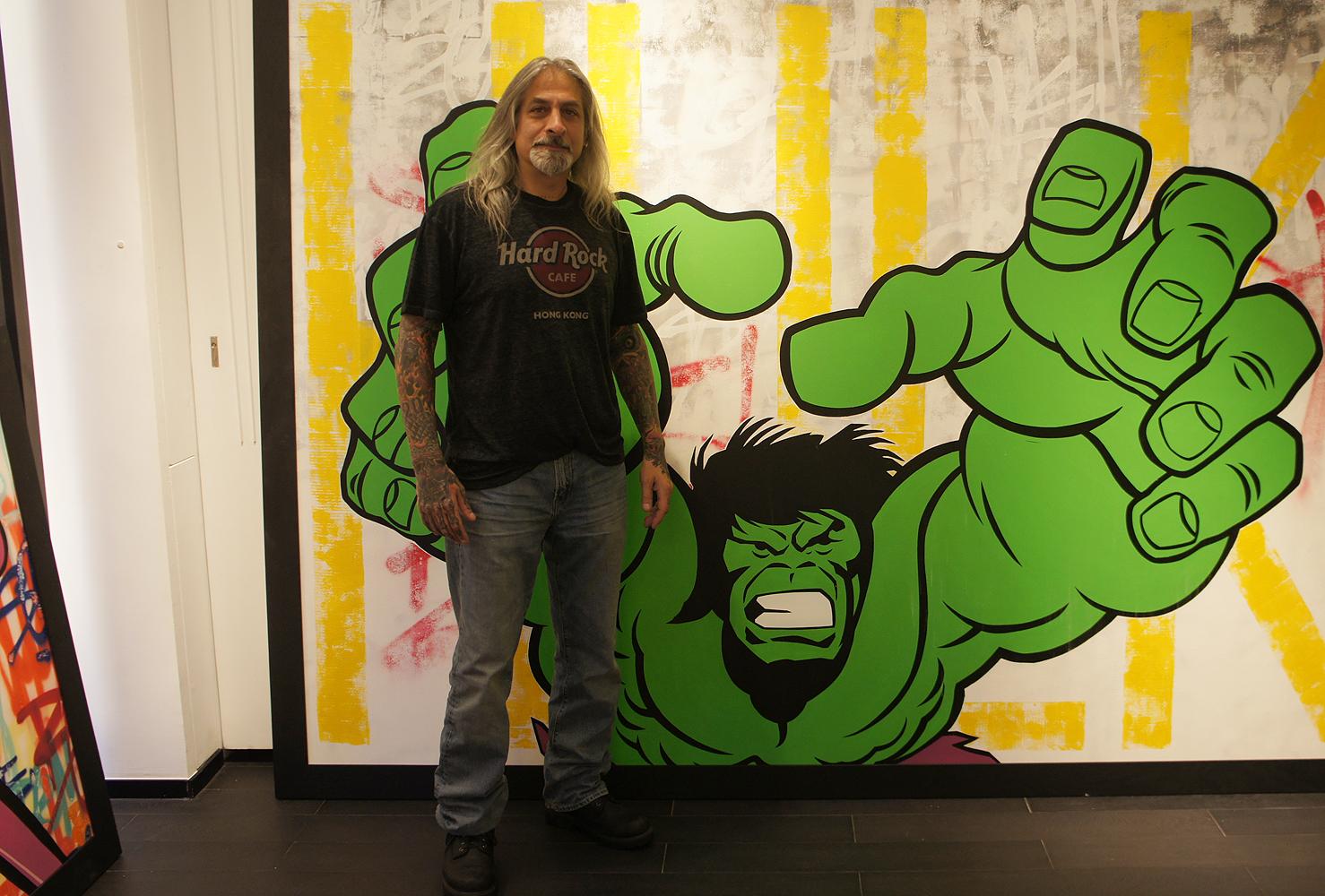 seen graffiti legend painting documentary opera gallery hong kong