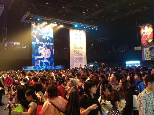 2NE1 concert hk adidas originals hong kong china