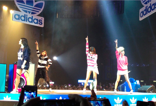 2NE1 concert hong kong adidas party hk live