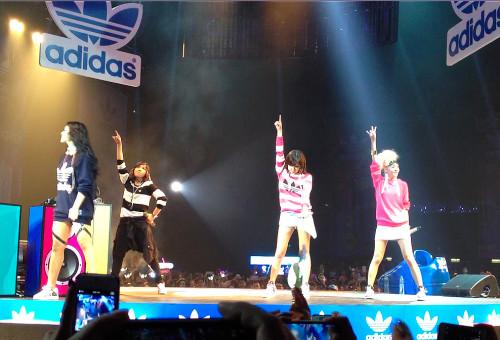 2NE1 concert hong kong adidas party hk live