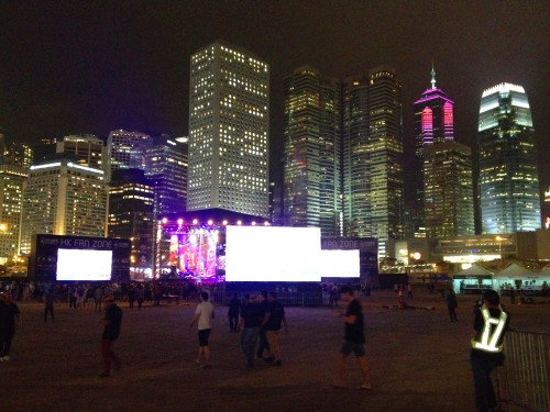 hkfanzone hong kong outdoor music festival concert series