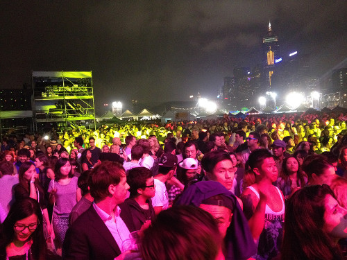 hkfanzone concert hong kong hk harbor waterfront