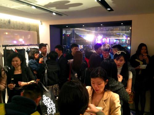 mcq store opening hong kong hk causeway bay