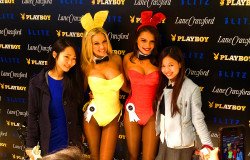 playboy 60th anniversary hk lane crawford hong kong